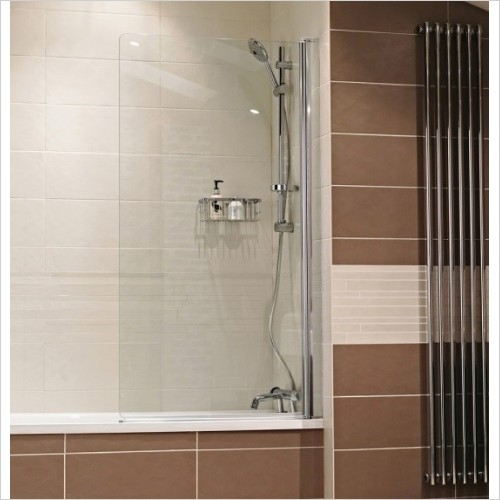 Roman Shower Enclosures - Lumin8 Bath Screen