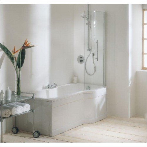 Adamsez Optional Extras - Retro Shower Screen 768x1402mm