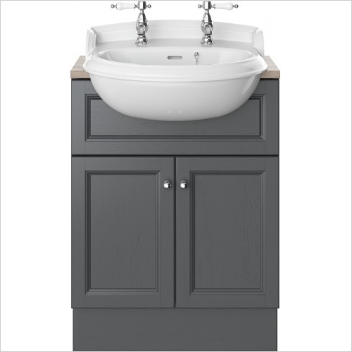 Heritage Furniture - Caversham 600mm Vanity Unit