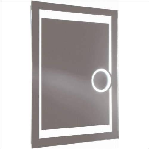 Roper Rhodes Accessories - Clarity Corona Backlit Mirror 800 x 600 x 50mm