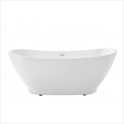 Heritage Bathtubs - Merrivale Doub End Freestanding Acrylic Bath 1760 x 680mm