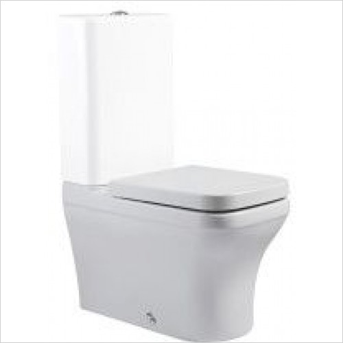Roper Rhodes Toilets - Cover Close Coupled WC Pan - Fully Flanked