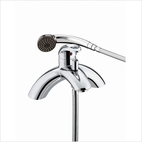 Bristan Showers - Java Single Lever Pillar Bath Shower Mixer