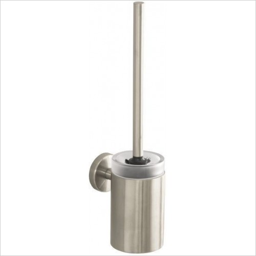 Hansgrohe - Accessories - Logis Glass Toilet Brush With Glass Holder