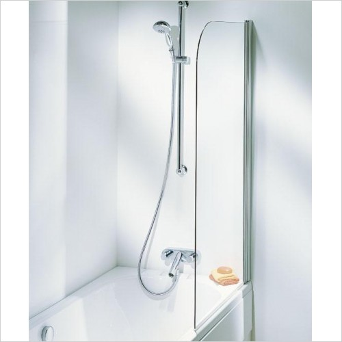 Adamsez Optional Extras - Shower Screen 827x1402mm LH