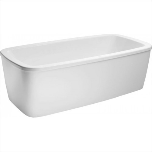 Laufen Optional Extra - Palomba Freestanding Bath With Panel 1800 x 900 x 630mm