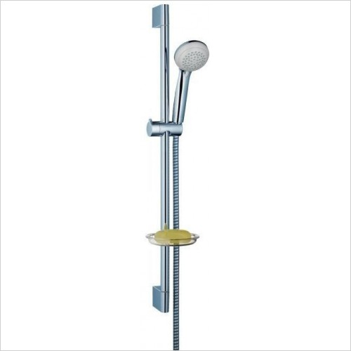 Hansgrohe Showers - Crometta 85 Vario/Unica'Crometta Set 0.65m With Soap Dish