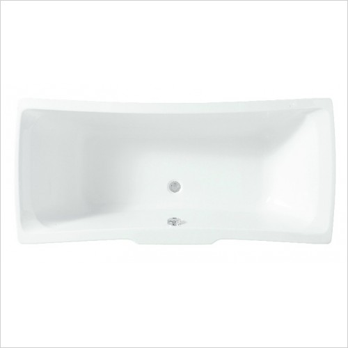 Signa Freestanding Bath 1800x825mm - solid beech feet