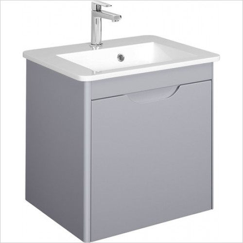 Bauhaus Furniture - Solo F Vanity Unit Single Drawer 550mm