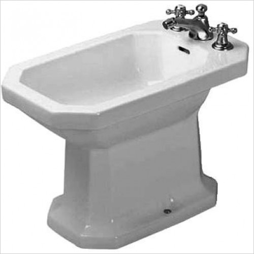 Duravit Bidets - 1930 Series Bidet Floorstanding 600mm 1TH