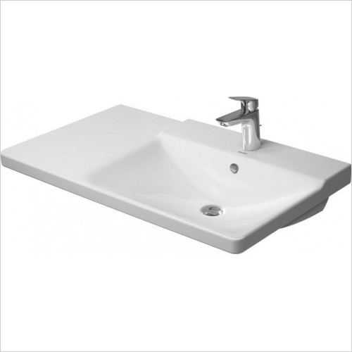 Duravit - Basins - P3 Comforts Furniture Washbasin 850mm Bowl On Right 1TH