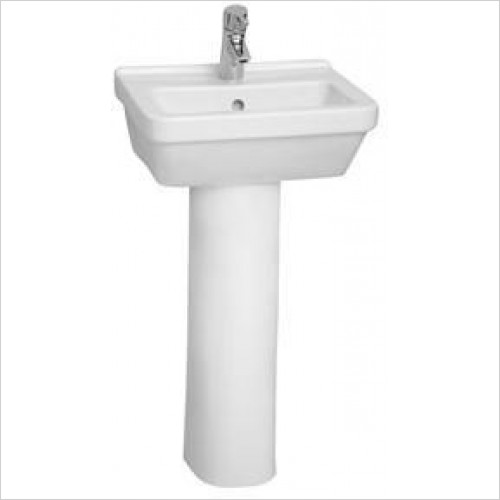 Vitra Basins - S50 Square Cloakroom Basin 45 x 38cm 1TH
