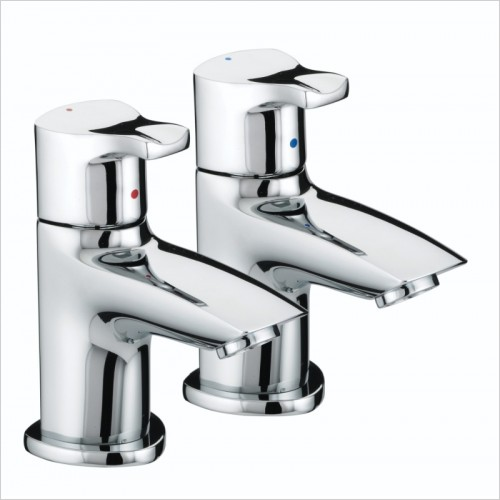 Bristan Taps - Capri Basin Pillar Taps
