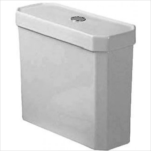 Duravit Optional Extras - 1930 Series Toilet Cistern With Dual Flush