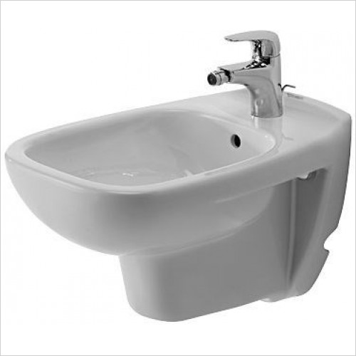 Duravit Bidets - D-Code Bidet Wm 545mm 1TH
