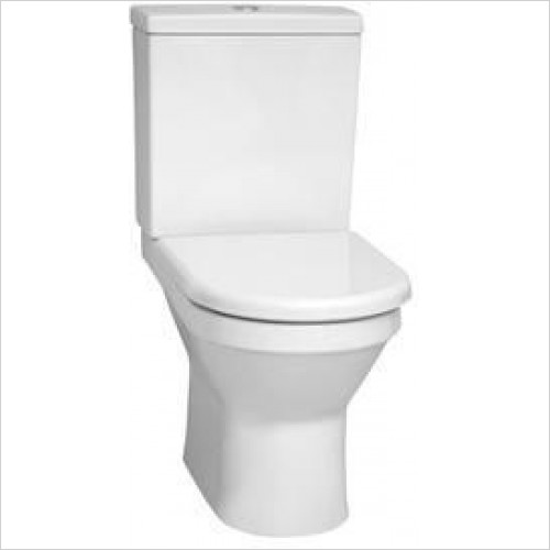 Vitra Toilets - S50 Close Coupled WC Suite (Open Back/Fully Back To Wall)