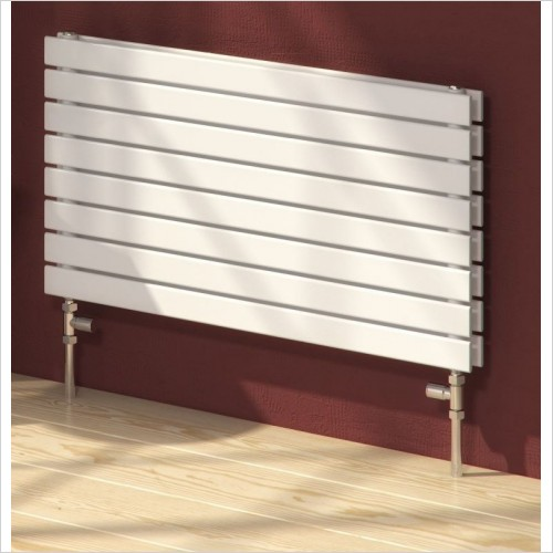 Rione Double Radiator 550 x 1000mm - Central