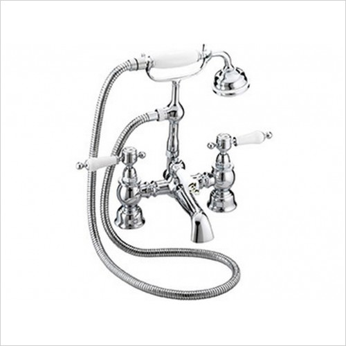 Heritage Showers - Granley Bath Shower Mixer Chrome