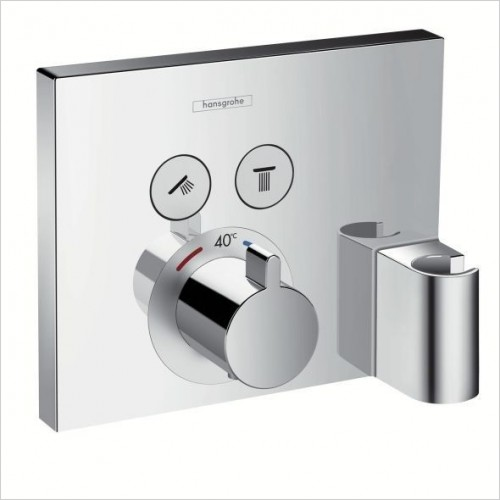 Hansgrohe Showers - Shower Select Thermostatic 2 Outlets, Fixfit & Porter