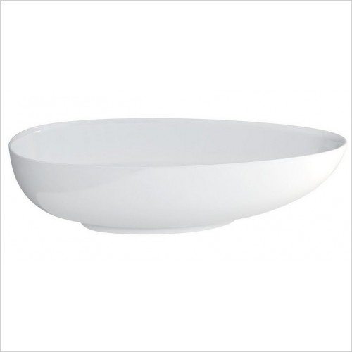 Clearwater Baths - Teardrop Large Modern Bath 1910 x 820mm Clearstone