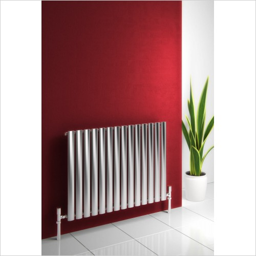 Reina Radiators - Nerox Single Radiator 600 x 826mm - Central