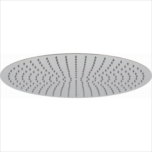 VADO Showers - Aquablade Slimline Round Shower Head, 500mm (20'')