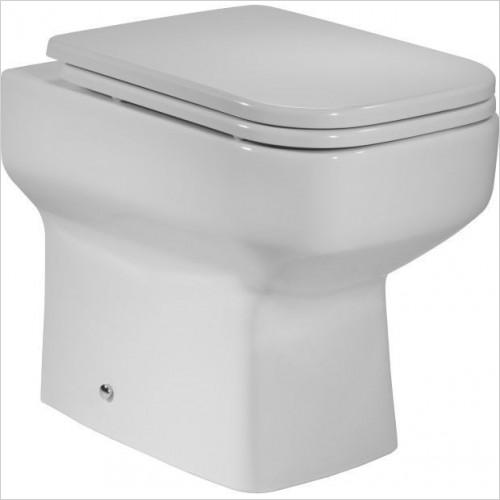 Roper Rhodes Toilets - Geo 505mm Back To Wall  Toilet Pan