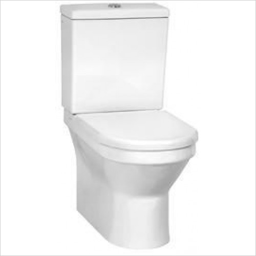 Vitra Toilets - S50 Close-Coupled WC Pan