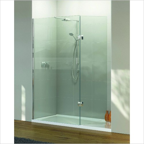 Matki Shower Enclosures - Boutique Recess, Raised Tray & Mixer 1500 x 900mm LH