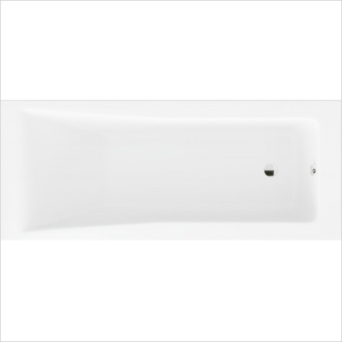 Heritage Bathtubs - Blenheim Single Ended 1700 x 700 Acrylic Fitted Bath