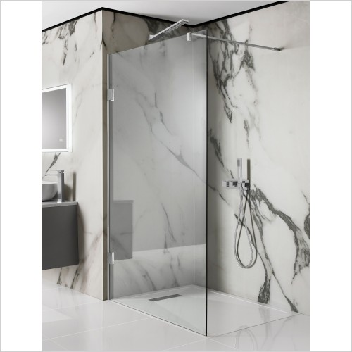 Crosswater Shower Enclosures - Zion Side Panel And Walk In 600mm