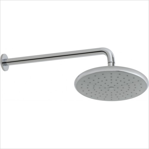 VADO Showers - Ceres Self Cleaning Shower Head & Wall Mounted Shower Arm