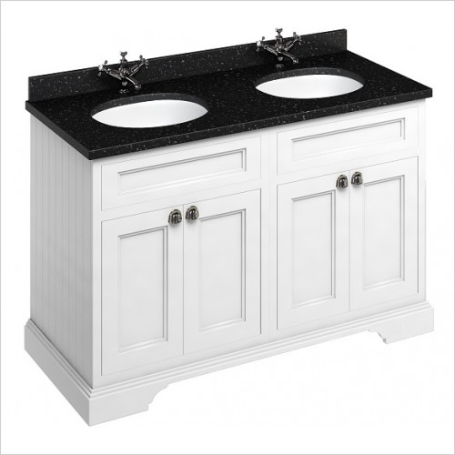 Burlington Furniture - 1300mm Freestanding Vanity Unit With Doors