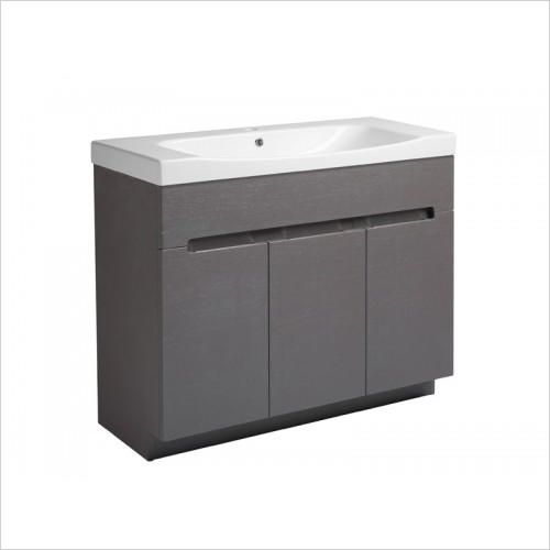 Roper Rhodes Furniture - Diverge 1000mm Floor Mounted Bathroom Vanity Unit