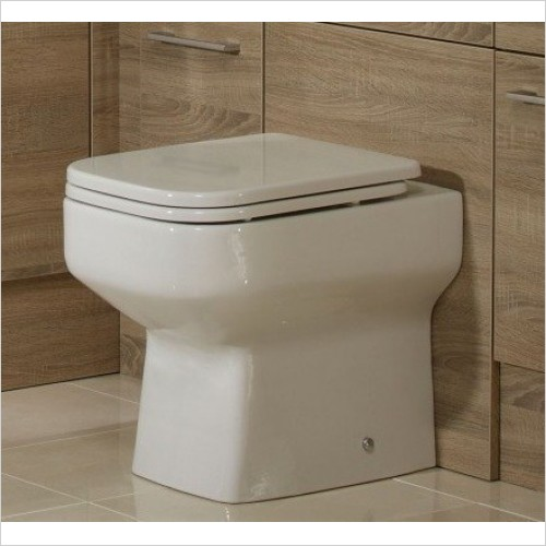 Roper Rhodes Toilets - Geo Soft-Closing Toilet Seat