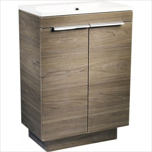 Cypher 600mm Freestanding Bathroom Vanity Unit