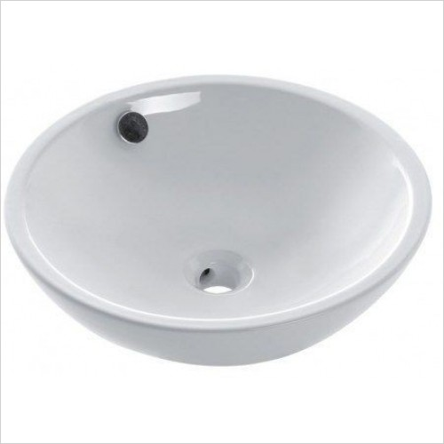 Crosswater Basins - Castellon Counter Basin With Overflow 430mm