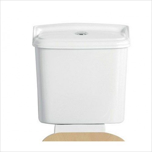 Heritage Optional Extras - Dorchester Portrait Cistern with Push Button Flush
