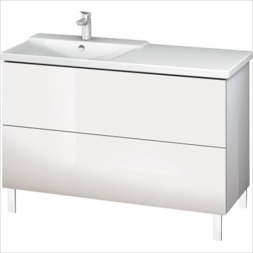 Duravit Furniture - L-Cube Vanity Unit Floorstanding 709x1220x481mm