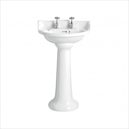 Heritage Basins - Dorchester Cloakroom Basin 1TH