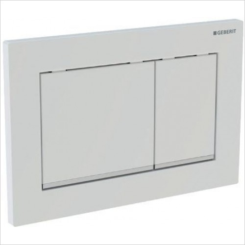 Geberit Optional Extras - Flush Plate Omega30 For Dual Flush