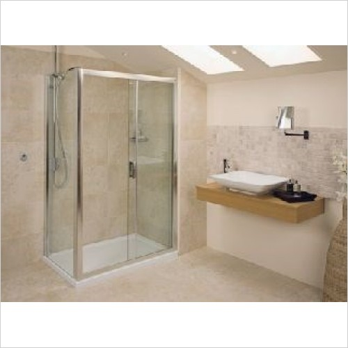 Roman Shower Enclosures - Embrace Sliding Door 1100mm