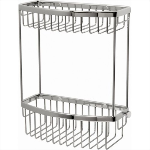Miller Accessories - Classic 2-Tier D-Shaped Basket