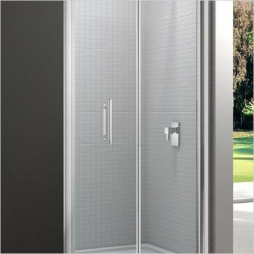 Showers with Bi-Fold Doors