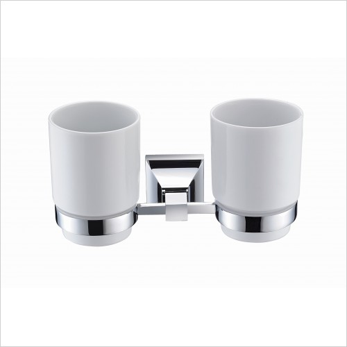 Heritage Accessories - Chancery Double Tumbler & Holder