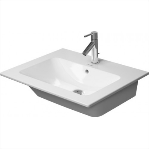 Duravit - Basins - Me By Starck Furniture Basin 630mm , With Overflow, 1TH
