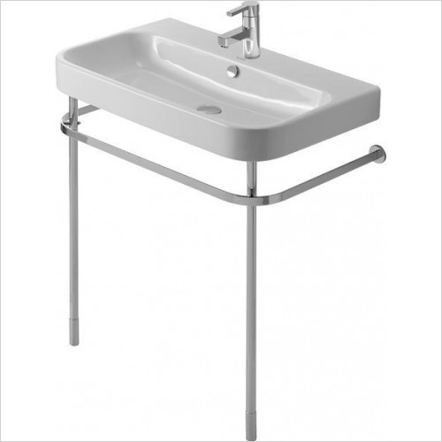 Duravit Optional Extras - Happy D.2 Metal Console Washbasin Height Adj