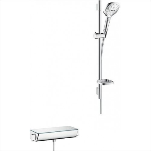 Hansgrohe Showers - Raindance Select E 120 Shower Valve and Rail With Head 0.65m