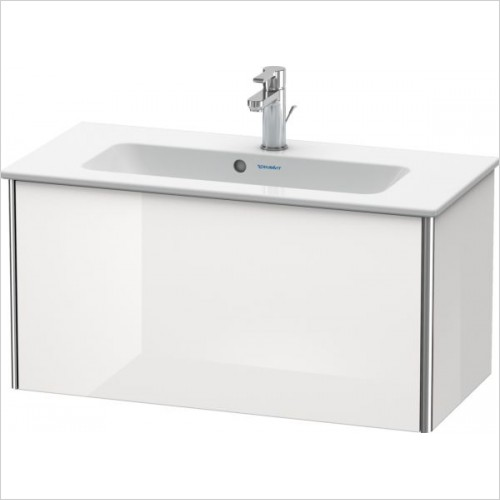 Duravit Furniture - XS XSquare Vanity Unit, 1 Pull-Out Comp 400x810x388mm