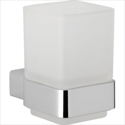 Roper Rhodes Accessories - Horizon Frosted Glass Tumbler & Holder
